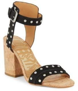 Dolce Vita Studded Block-Heel Sandals