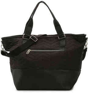Women's Quilted Cori Weekender Bag -Black
