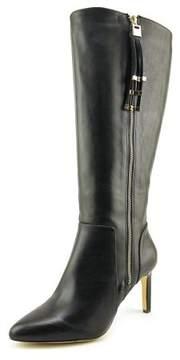 INC International Concepts Libbi Wide Calf Women Leather Knee High Boot