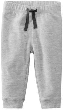 First Impressions Heathered Jogger Pants, Baby Boys (0-24 months), Created for Macy's