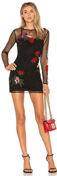 Lovers + Friends Short and Sweet Embroidered Dress