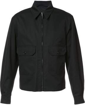 Lemaire zipped bomber jacket