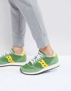 Saucony Jazz Original Sneakers In Green S70368-17