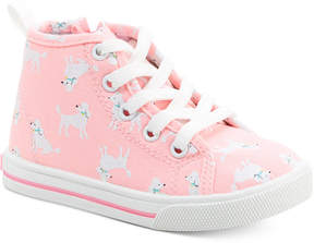 Carter's Ginger Poodle-Print High-Top Sneakers, Toddler Girls (4.5-10.5) & Little Girls (11-3)