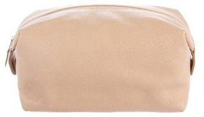 Giorgio Armani Leather Cosmetic Bag
