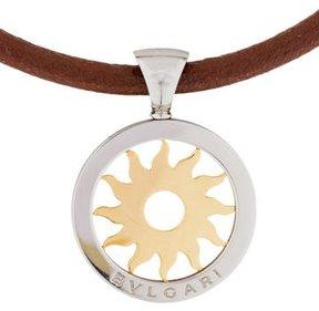 Bvlgari Small Tondo Sun Pendant Necklace