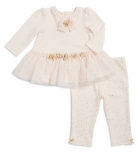 Little Me Baby Girl's Two-Piece Top & Leggings Set