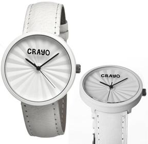Crayo Pleats Collection CR1501 Unisex Watch
