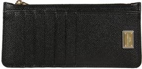 Dolce & Gabbana Zipped Card Holder - NERO - STYLE