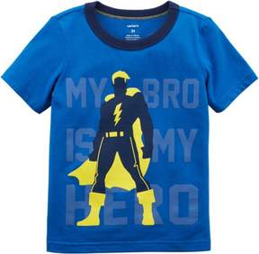 Carter's Toddler Boys My Bro Is My Hero T- Shirt