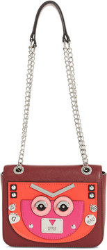 Guess Cyber Rock Small Convertible Flap Crossbody