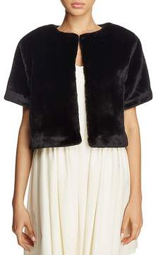 Echo Plush Crop Jacket
