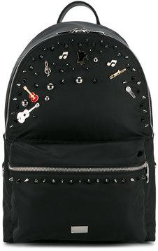 Dolce & Gabbana music embellished backpack