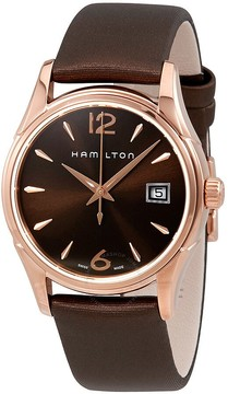 Hamilton Jazzmaster Brown Dial Ladies Watch