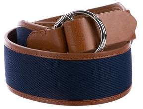 Lauren Ralph Lauren Canvas Wide Belt