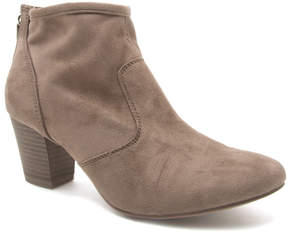 Qupid Taupe Rix Ankle Boot - Women