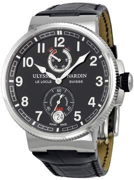 Ulysse Nardin Marine Chronometer Black Dial Automatic Men's Watch