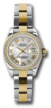 Rolex Lady Datejust Mother of Pearl Dial Automatic Watch