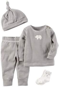 Carter's Baby 4-pc. Striped Babysoft Take-Me-Home Set