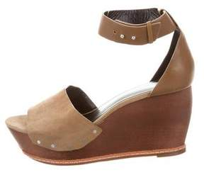 Derek Lam 10 Crosby Suede Wedge Sandals