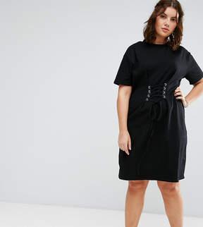 Alice & You Corset Detail T-Shirt Dress