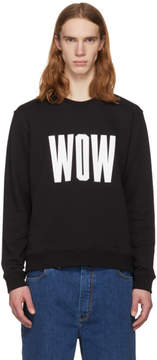 MSGM Black Wow Sweatshirt