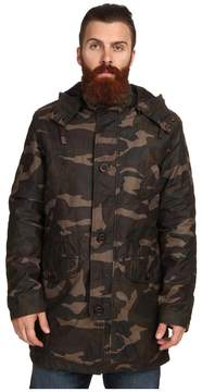 Cole Haan Washed Military Parka Men's Jacket