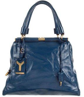 Saint Laurent Majorelle Shoulder Bag - BLUE - STYLE