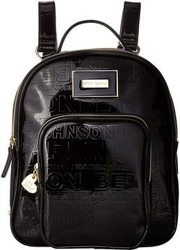 Betsey Johnson Logo Backpack Backpack Bags