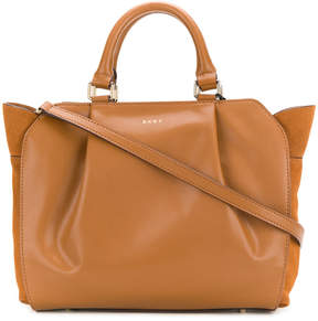DKNY soft pleated tote bag