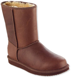 L.L. Bean Women's Wicked Good Shearling Boots, Mid