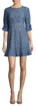 WAYF Floral Mini Dress