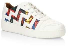 Bally X Swizz Beatz Leather Sneakers