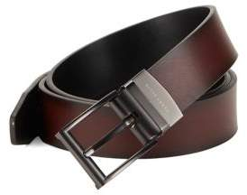Perry Ellis Mah Fashion Leather Belt