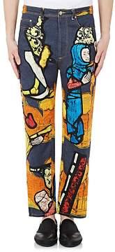 J.W.Anderson Men's Medieval Straight-Leg Jeans
