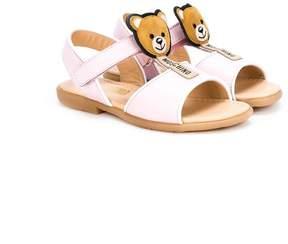 Moschino Kids teddy bear sandals