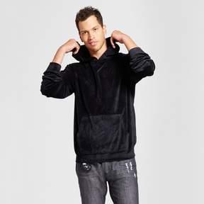Jackson Men's Velour Long Sleeve Hoodie Black