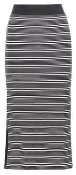 ATM Anthony Thomas Melillo Striped jersey skirt
