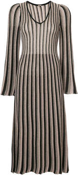 ADAM by Adam Lippes glitter striped midi dress†