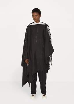 Yohji Yamamoto Poncho Dress Black