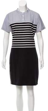 Band Of Outsiders Stripe Mini Dress