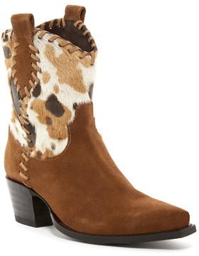 Donald J Pliner Jaclyn Genuine Calf Hair Western Mid Boot