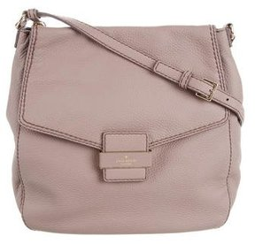 Kate Spade Leather Crossbody Bag - PINK - STYLE