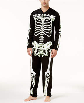 Bioworld Men's Halloween Glow-In-The-Dark Skeleton 1-Pc. Costume