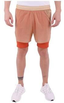 Reebok Men's Beige Polyamide Shorts.