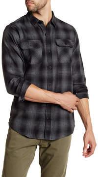 Burnside Eldon Regular Fit Plaid Shirt