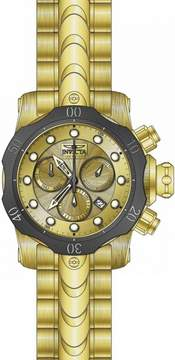 Invicta Venom Chronograph Gold Dial Men's Watch