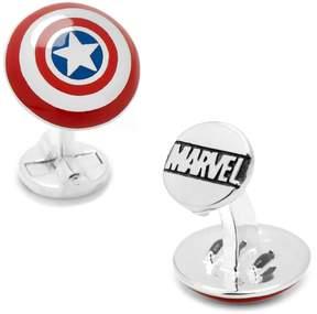 Marvel 3D Captain America Shield Cuff Links