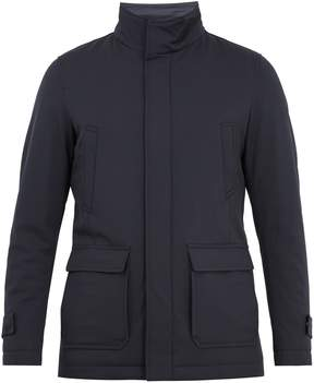 Herno Padded wool-blend coat