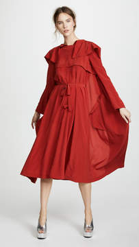 Awake Inside Out Trench Coat Dress